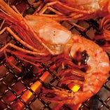 新鮮な魚介は焼いても美味しい♪