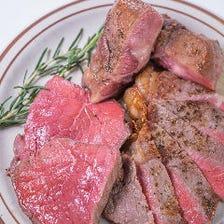 自家製ブランドのこだわり熟成肉