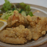 <から揚げ> 宮崎産の鶏肉を使ったマスター特製から揚げ!