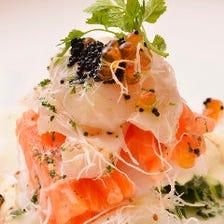 マヨルカ風魚貝のサラダ