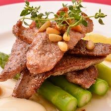イベリコ豚セクレトの塩焼き ~アリオリソース添え~