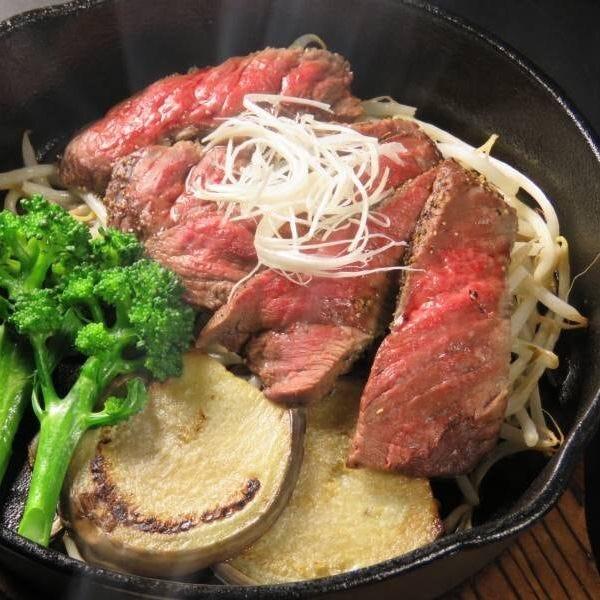【彩の音プレミアムコース】村上牛ステーキ・採れたて野菜・旬のお刺身等2H飲み放題6000円