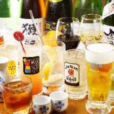 単品飲み放題は1000円〜ご用意!