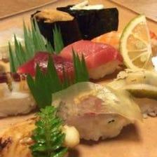 関門前の寿司