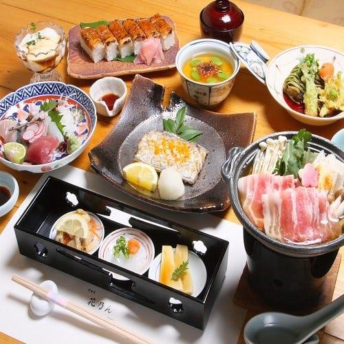 ゲストを囲んで…【極コース7,700円(税込)】(全10品)お料理のみ