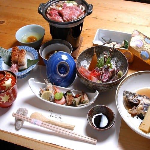 贅沢なおもてなしに…【四季コース11,000円(税込)】(全10品)お料理のみ