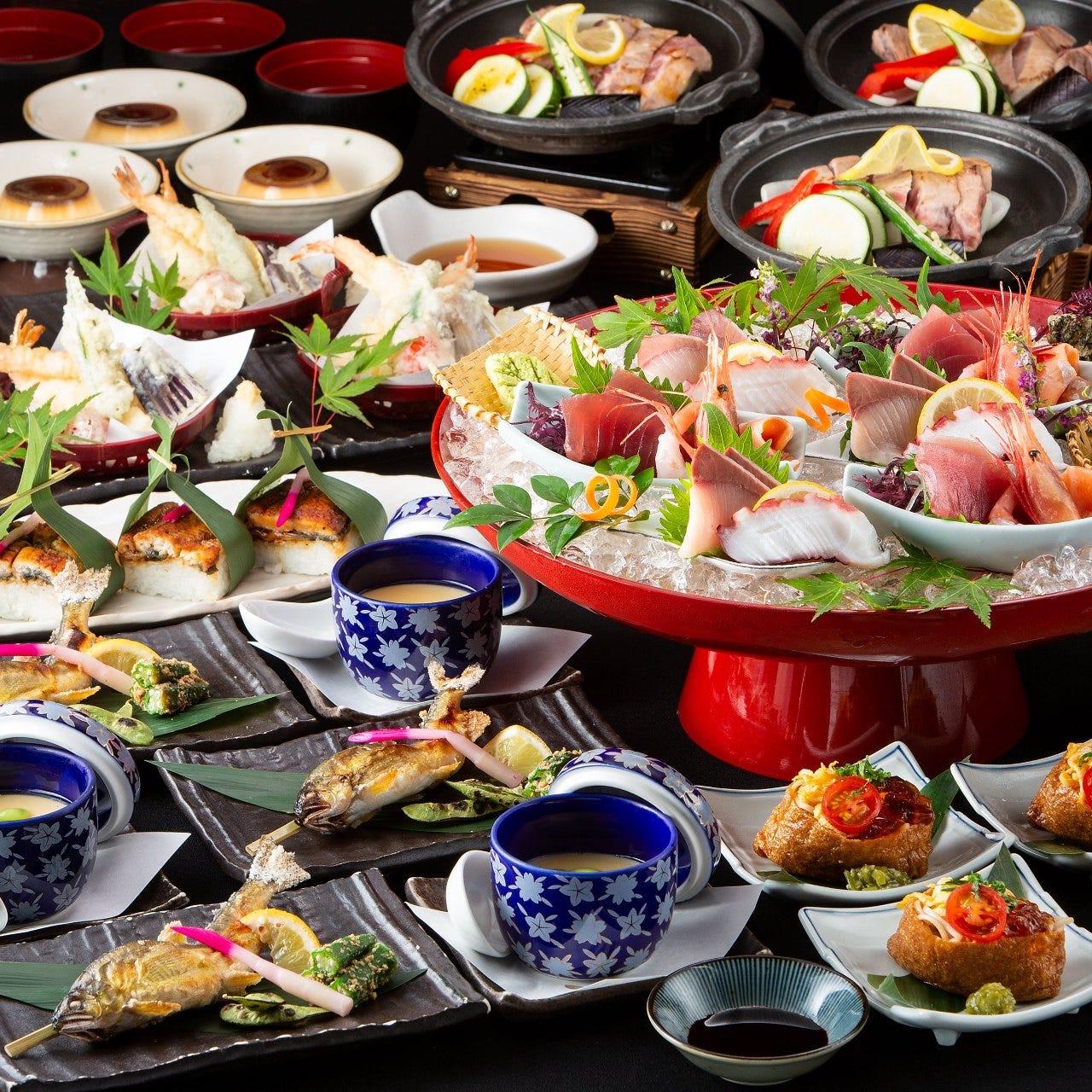 <夏コース>新鮮魚介や旬をたっぷり!