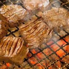 約40種類の牛タン料理
