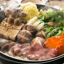 宴会に!極上のタン元を使用した『牛タンすき焼き』コース 2h飲み放題付全9品¥6,500→¥5,000
