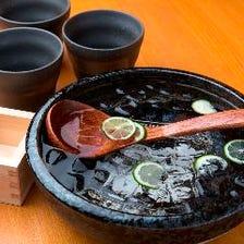 紀州を中心にした豊富な地酒