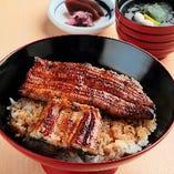 うな丼『上』(鰻蒲焼3/4尾)