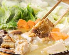 絶品鍋!!白湯・鶏がらスープの水炊き