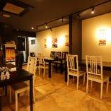 【テーブル席:3~6名様×1卓、5~8名様×1卓】心落ち着く空間でご友人・ご家族との食事会を