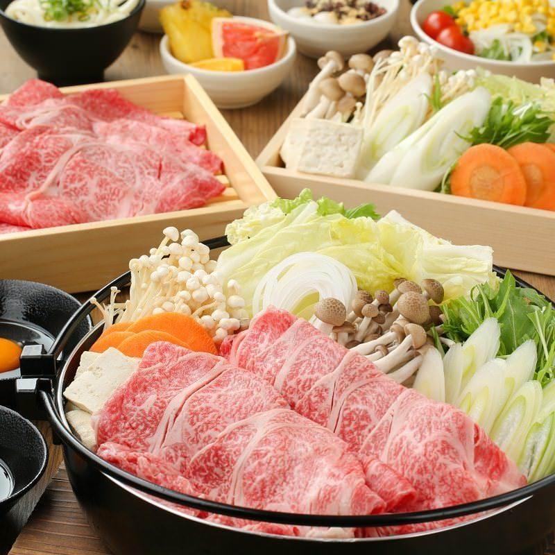 【期間限定】すきやき食べ放題