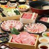 食べ放題&飲み放題で気兼ねなく。ご家族や友人とお鍋を囲んで