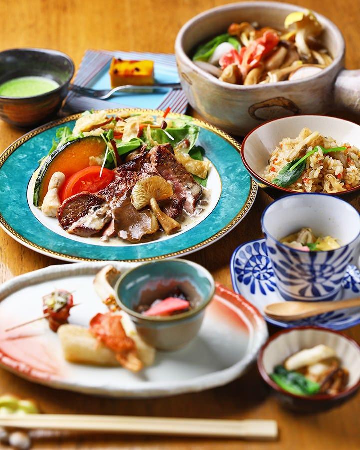 ◆季節に応じたコース料理をご用意