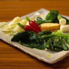 練馬野菜のサラダ
