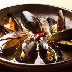 ムール貝の紹興酒煮