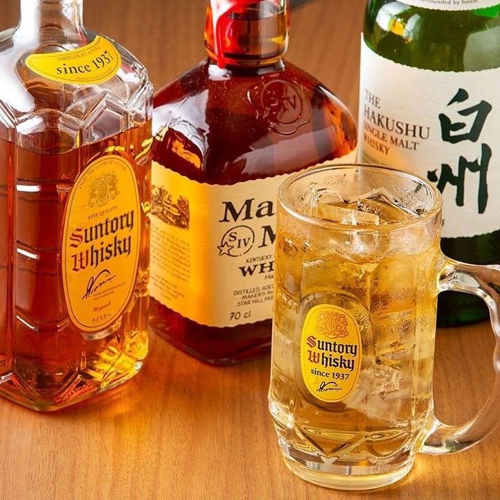 大人の嗜み『ウイスキー』で乾杯を