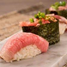 職人の逸品!肉寿司のテイクアウト