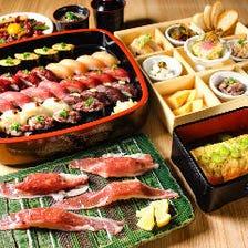 肉寿司で宴会♪
