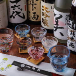 日本酒のラインナップが豊富に。希少酒をご用意♪