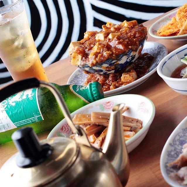 台湾屋台のお料理が豊富!