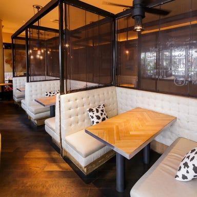 チーズ&グリルカフェ ジャンブーカ あべのキューズモール店 店内の画像