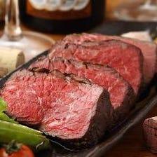 当店自慢の肉料理を存分に味わえる