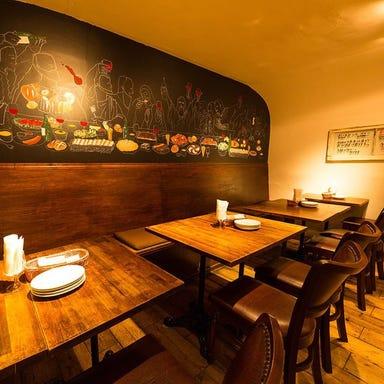ワイン食堂 PASTARS  店内の画像