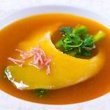 気仙沼産フカヒレ。中華を代表する食材だからこそ妥協無し。