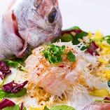 瀬戸内産鮮魚を使った料理も人気です。