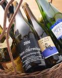 厳選されたビオワイン(自然派ワイン)は 30種類以上!