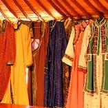 レンタル無料!100種類以上の衣装からお好きなものをお選びいただけます!