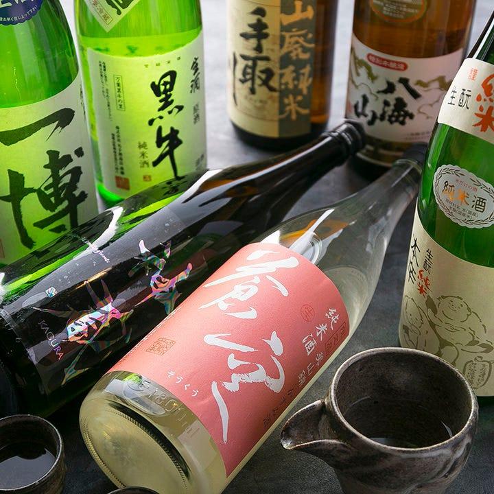 店長が厳選して仕入れた日本酒 地元京都のお酒もございます!