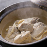 骨付きさつま鶏のスープ炊き