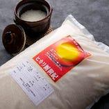 より土鍋料理が美味しくなるよう、お米は京都産ヒカリ新世紀米を使用。