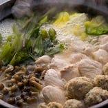 お鍋は「ゆず香る鶏鍋」をご用意しております。