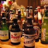 【世界各国のビール】 厳選して取り揃えたビールをご堪能下さい