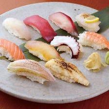 寿司と焼鳥と刺身!