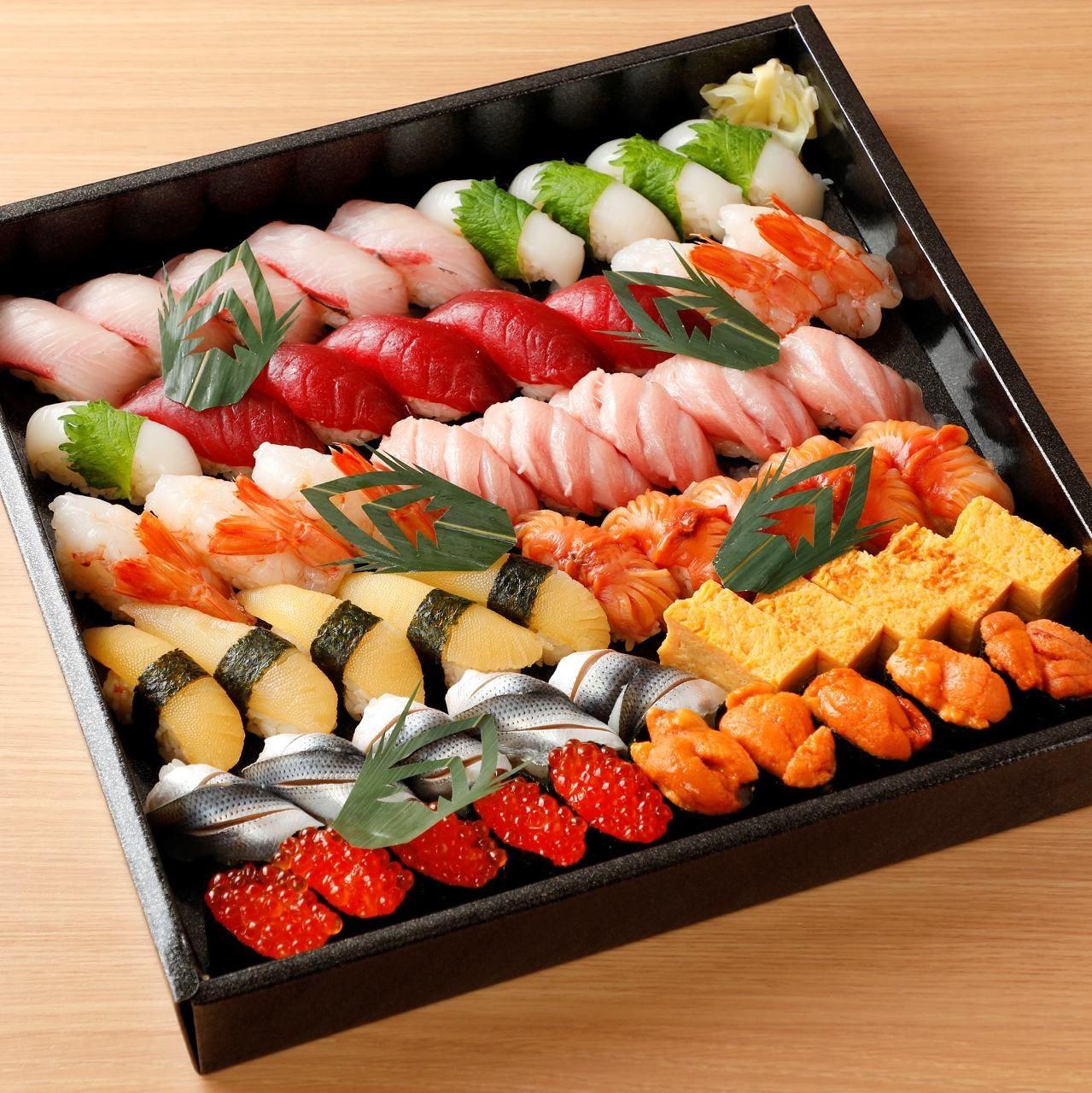 奴寿司のお持ち帰り寿司 家庭で職人がにぎる美味しいお寿司