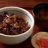 豚捨特製 【牛丼】(ランチ・ディナー)