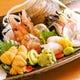新鮮な魚介類の盛込刺身 おすすめの刺身もご用意してます