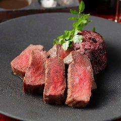 熟成黒毛和牛イチボのステーキ