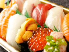 こだわりの寿司