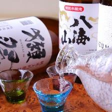 厳選入荷「日本酒」×ウマい肴