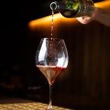 厳選肉と合わせるワインは格別