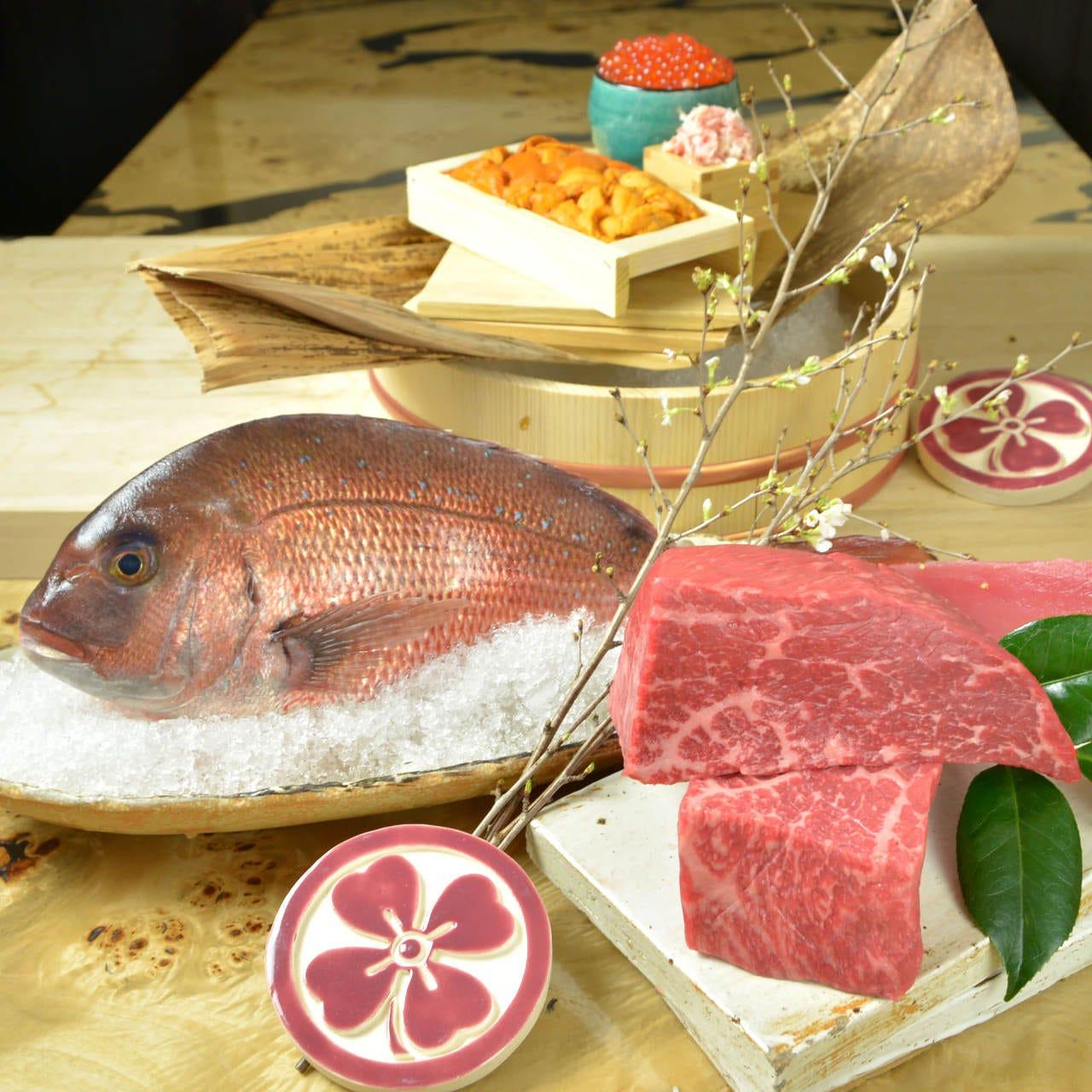 【特撰!■毘沙門コース】ご接待やご家族の祝いに厳選産直食材を味わう特別な本格懐石とうどんのコース