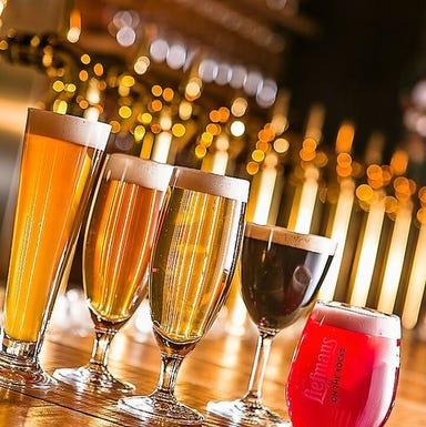 Craft Beer&Wine&Chicago Pizza U‐!  こだわりの画像