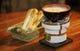 炭火チーズフォンドュ 自家製のフォカッチャとご一緒に
